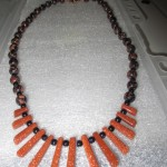 Fan / Collar necklace